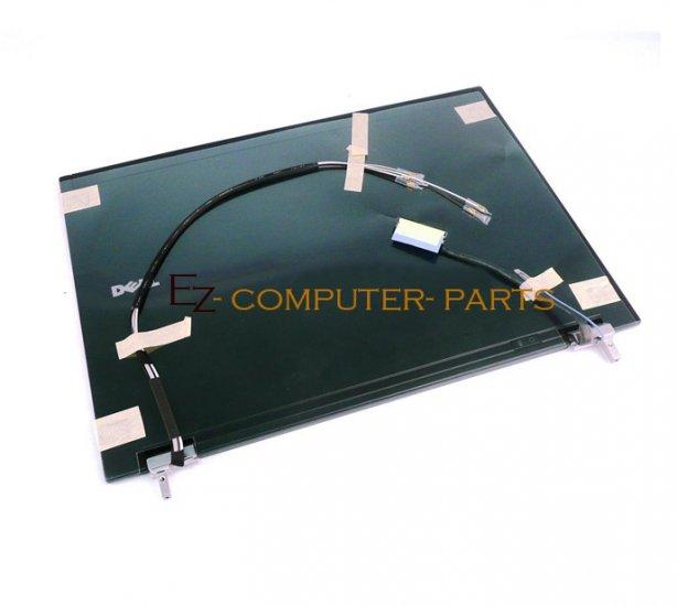DELL MT649 LCD Cover w/Hinges Latitude E6400 A+ Grade !