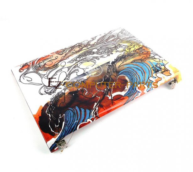 DELL P596X LCD Cover w/Hinges Studio 15 1537 A+ Grade ~