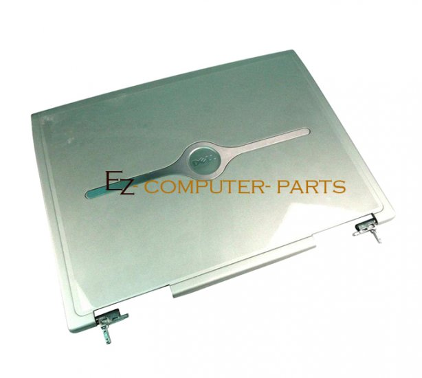 DELL 2U158 LCD Cover w/Hinges Inspiron 8500 8600 A+  ~