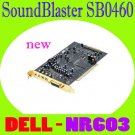 DELL SOUND BLASTER X-Fi PCI AUDIO CARD SB0460 NR603   #