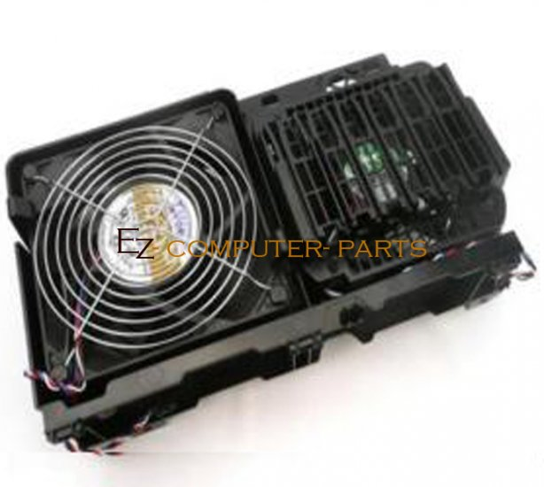 Dell Precision 690 CPU Card Fan and Cage Assy YC653   ~