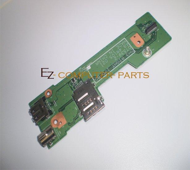 DELL 48.4W105.021 07539-2 USB S-VIDEO PANEL BOARD *A* !