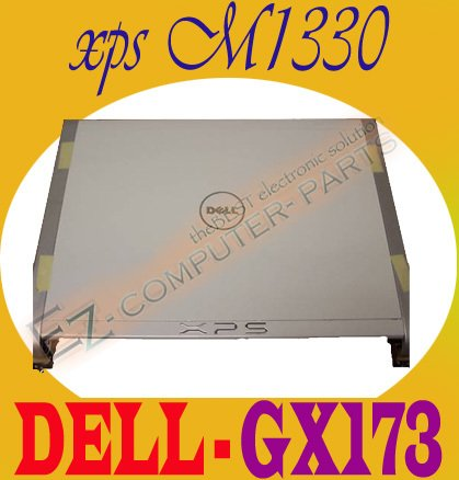 """New Dell XPS M1330 13.3"""" CCFL LCD Back Cover Lid GX173"""