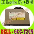 Dell MU184 HLDS CD ReWriter DVD-ROM SATA Drive GCC-T20N