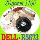 Dell Inspiron 5160 CPU HeatSink Cooling Fan 4 PIN R5673