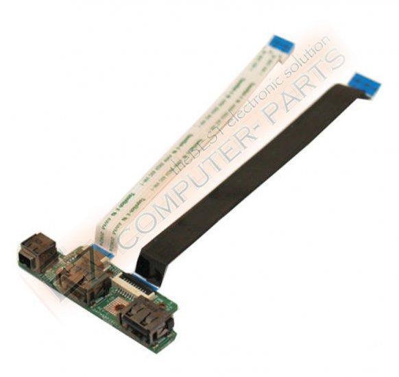 Dell Studio 1535 1536 1537 USB & Firewire Board W724D !