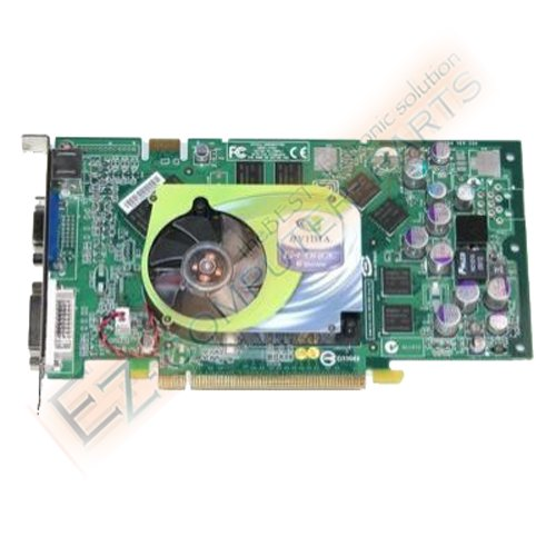 Dell 256MB nVidia GeForce 6800 PCIe Dual Video K9341  !
