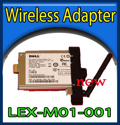 New Dell Wireless Home Printer Adapter 1000 LEX-M01-001