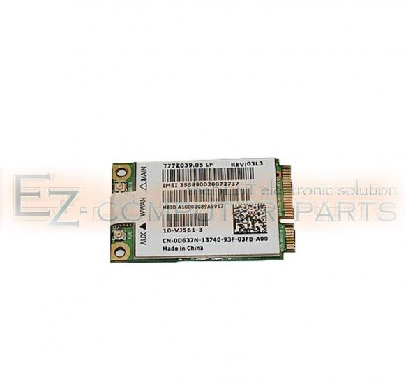 Dell D637N Wireless Card              !