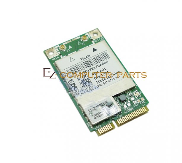 Lot of 10 Dell Mini-PCI Card WLAN WX781 JR356 As-Is !