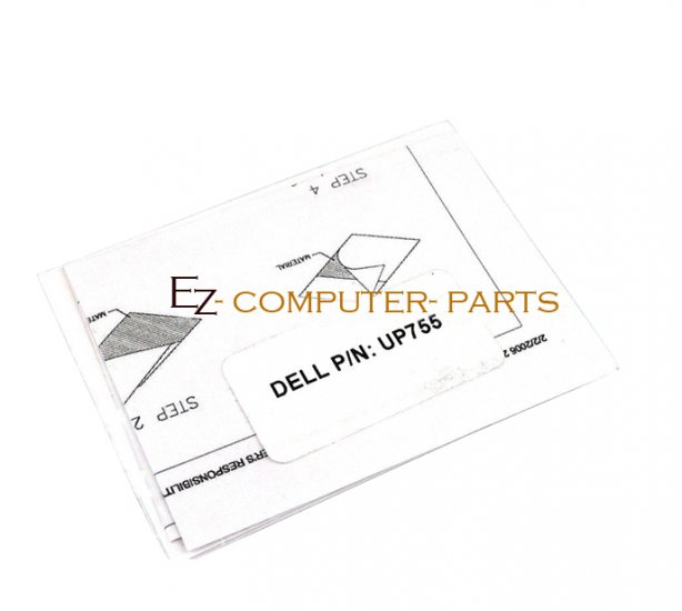 Dell Processor Thermal Interface Pad/Grease Kit UP755 !