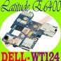 "Dell Latitude E6400 IO Circuit Audio Board  WT124 ""A"" !"