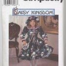 Childs Dress, Hat & Purse Sz 3,4,5,6 Daisy Kingdom 9707