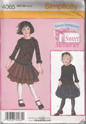 Simplicity Daisy Kingdom Sweet memories 4065