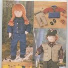 "Vogue Craft 9833 Doll Clothes, 18"" Doll Pattern"