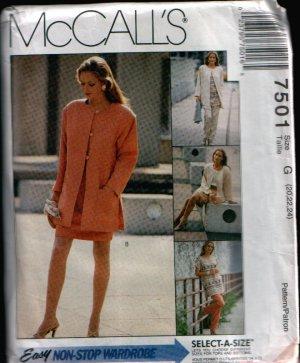 McCalls 7501