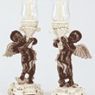 Cherub Candle Holders (Pair) -34135