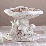 Toadstool Birdfeeder -33574