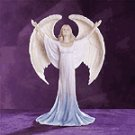 Praising Angel Figurine -33811