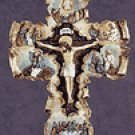 Life of Jesus Scroll Wall Cross -34090