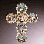Alabastrite Life Of Jesus Cross Wall -30722