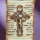 Devotional Scroll Wall Plaque -34798