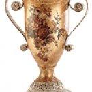 Porcelain Antique-Finish Rose Urn -33626