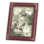 Rosewood-Simulated Photo Frame -30589