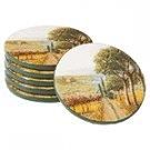 Tuscan Coaster Set -35679