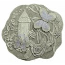 Alabastrite Butterfly Garden Plaque -30155