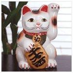 Ceramic Japanese cat -31438