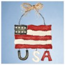 American Flag Wall Plaque -32384