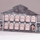 Pewter School House 13-Photo Frame -32243