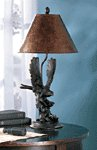 Eagle On Branch Lamp -35033