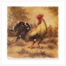 Rooster Wall Plaque -33173