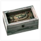 Wood Fishing Shadowbox -33176