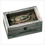 Wood Fishing Shadowbox -33176