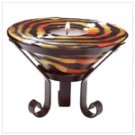 Tiger Stripe Cone-Shaped Candle -33720