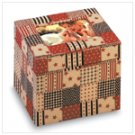 American Country Fabric Photo Box -34874