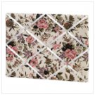 Floral Fabric Memo Board -34872