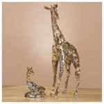 Safari Patchwork Giraffes -34864