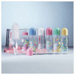 Pink Baby Bottle Gift Set -34197