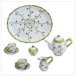 Spring Green Miniature Tea Set -34310