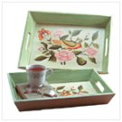 Birds and Flowers Nesting Trays -34370