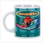 Powerpuff Girls Ceramic Decal Mug -34012