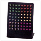 3-Dozen Heart Stud Earrings -34532
