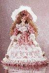 "18"" Porcelain Victorian Doll - Desiree -29630"