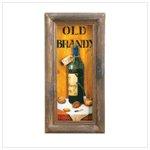 Old Brandy Shadowbox Art -36415