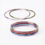 Color Metal Bangles -36909