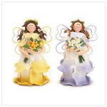 Whimsical Clay Fairies -36327
